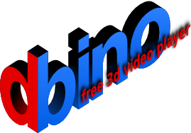 Bino: free 3D video player - просмотр 3D стереофильмов в MacOS