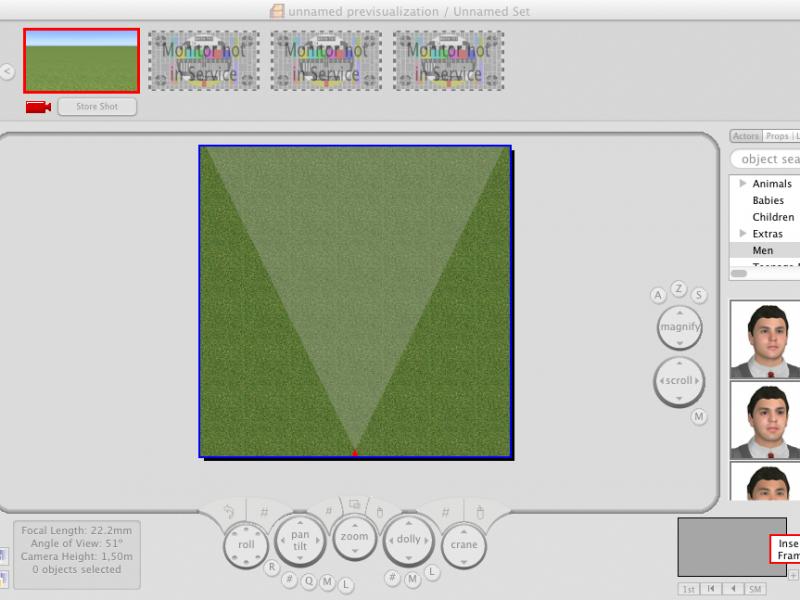 FrameForge Previs Studio 3 Stereographic 3D Edition - 3 UB/KG Mac