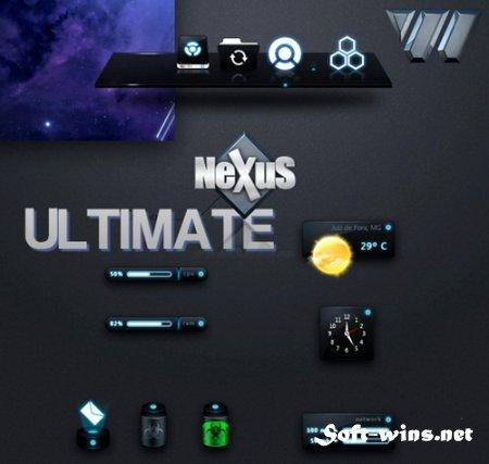 Winstep Nexus Ultimate 11.6 - красивая панель для быстрого запуска программ