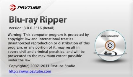 Pavtube Blu-ray Ripper 3.0.0.2516 (Mac OS)
