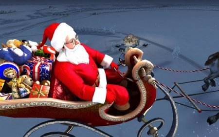 Santa Claus 3D Screensaver 1.1.0.2