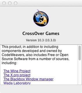 CrossOver Games 10.3