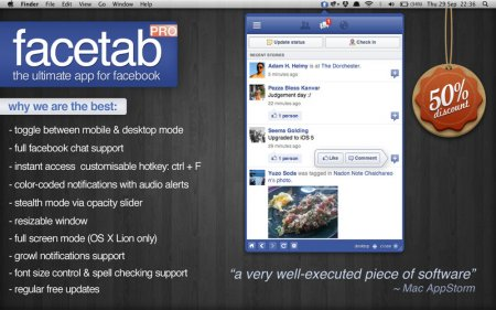 FaceTab Pro 3.6