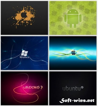 SuperPack Collection Logon HD Wallpapers Part 1