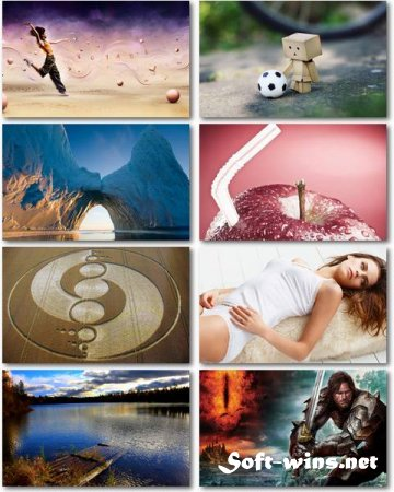 Salad of Widescreen Wallpapers (Pack 477)