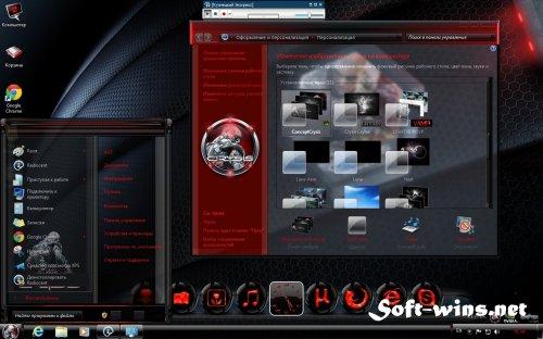 Темы для Windows 7 Crysis (2012)