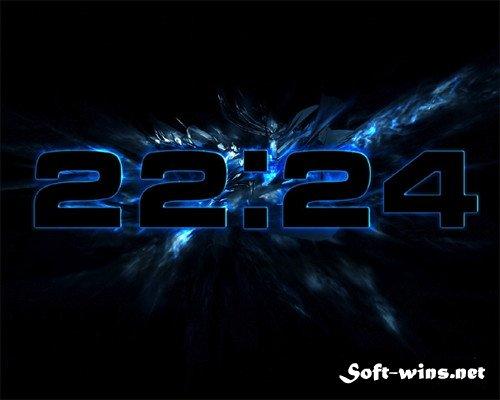 заставка часы на рабочий стол windows 7 № 203040  скачать