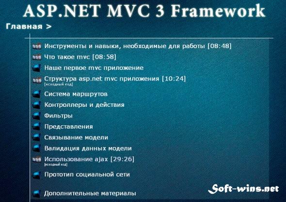 Видеокурс ASP.NET MVC3