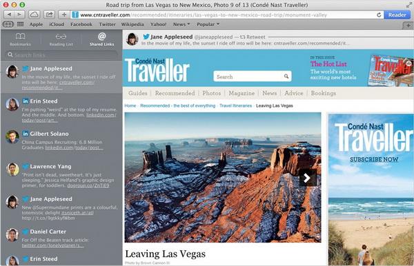 Улучшен фирменный веб-браузер Safari
