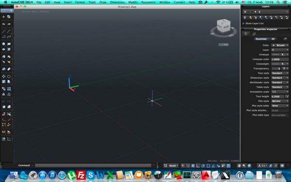 Autodesk AutoCad 2014 для Mac