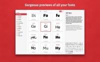 Fonts 1.0.2 - менеджер шрифтов для Mac