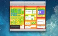 Disk Map 2.1 - инструмент визуализации содержимого жёстких дисков