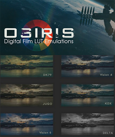 VisionColor OSIRIS LUTs for Mac