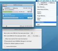 RAMDisk Manager 1.2.1 for Mac