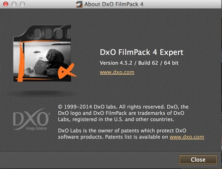 DxO FilmPack Expert 4.5.2