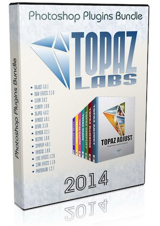 Topaz Photoshop Plugins Bundle - июль 2014