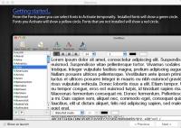 FontBoss 1.0 - менеджер шрифтов