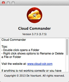 Cloud Commander 3.7.5