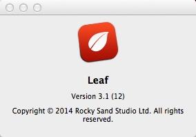 Leaf - The News Reader 3.1