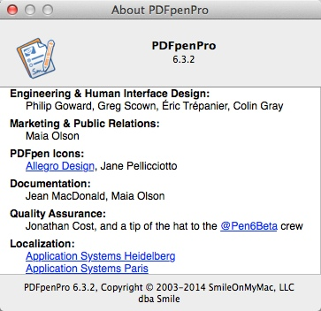 PDFpenPro 6.3.2