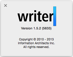iA Writer 1.5.2