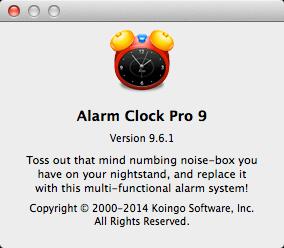 Alarm Clock Pro 9.6.1
