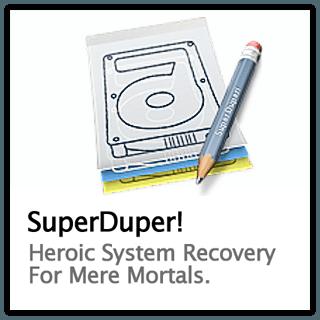 SuperDuper! 2.9 — cоздание резервных копий на компьютерах Mac