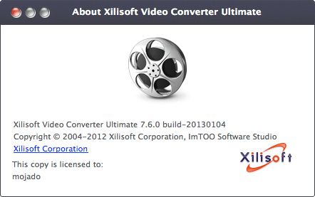 Xilisoft Video Converter Ultimate for Mac 7.7.3
