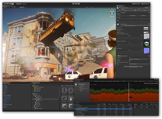 скачать торрент Unity Pro 5 - фото 3