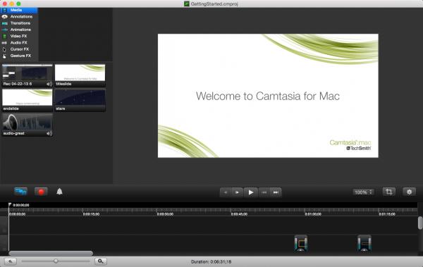 Camtasia for Mac 2.10.7