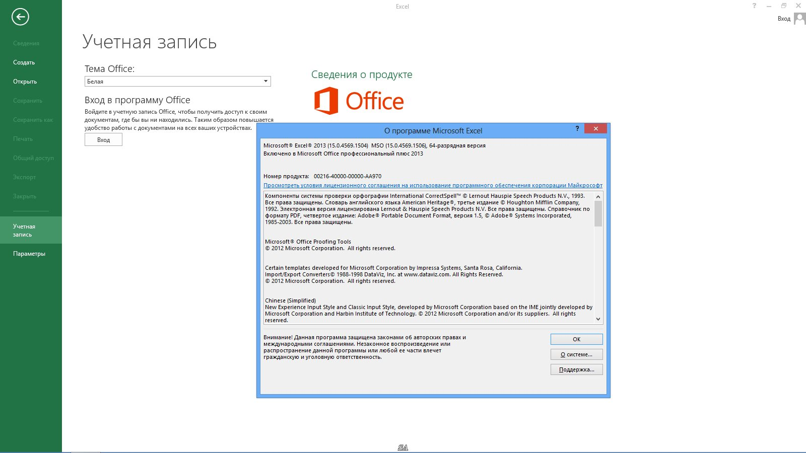 microsoft office professional plus 2013 sp1 15.0