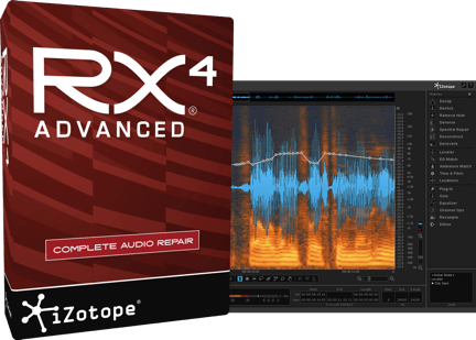 iZotope RX 4 Advanced v4.01