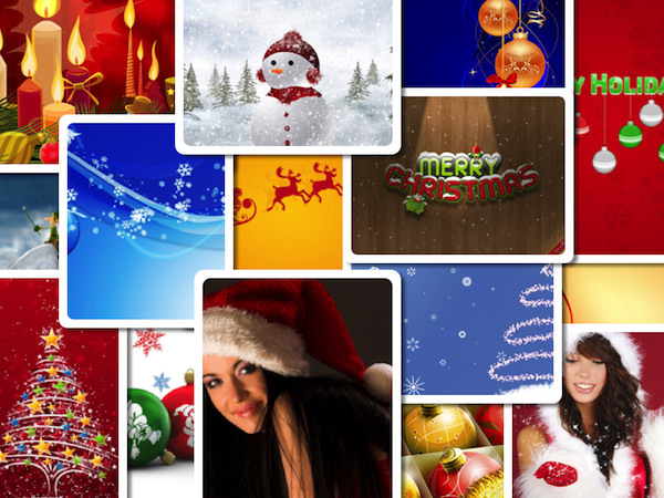 Merry Christmas & Happy New Year - Wallpapers