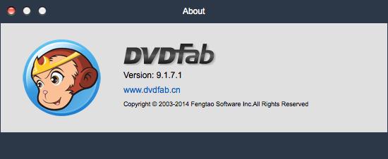 DVDFab 9.1.7.1 for Mac - Комплексное решение для копирования и конвертирования DVD и Blu-Ray дисков.