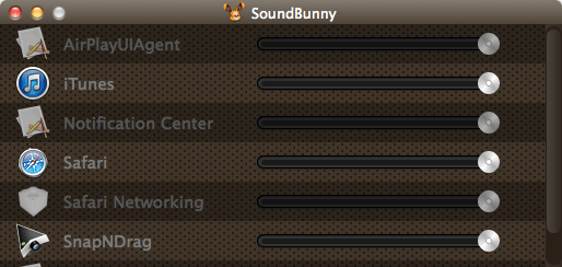 SoundBunny 1.1.2 - регулятор громкости для Mac