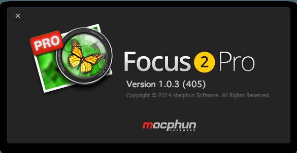 Focus 2 Pro 1.0.3