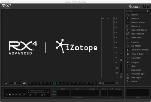 iZotope RX 4 Advanced v4.01