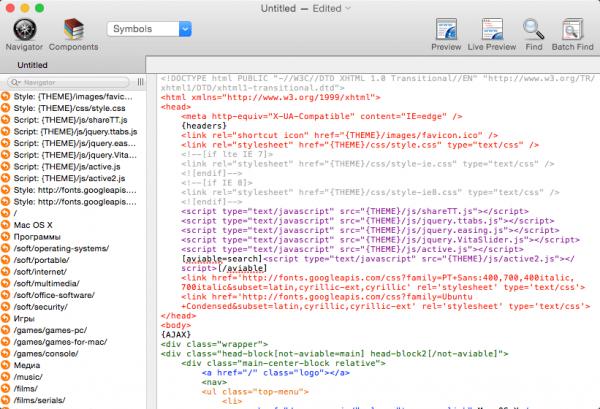 Taco HTML Edit 3.0.9