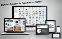 iWorkFast: Templates for Pages Numbers Keynote 3.1