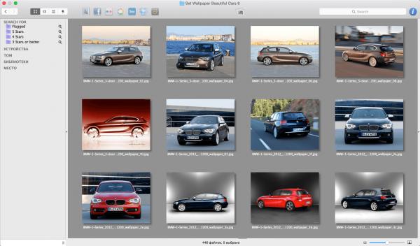 Lyn 1.8.1 - браузер изображений для Mac OS