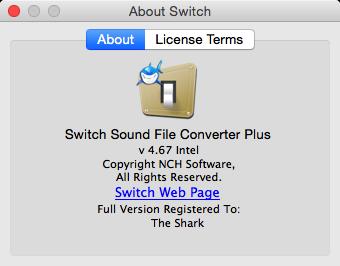 Switch Audio File Converter Plus 4.67