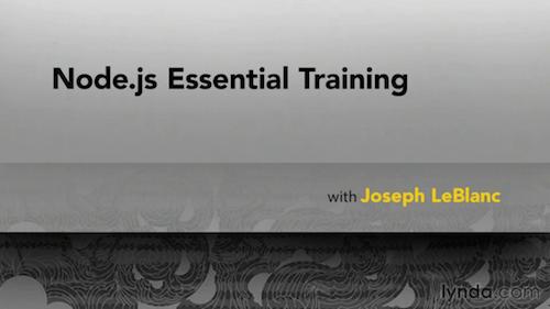 Node.js Essential Training (2013)