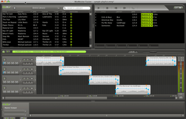 MixMeister Fusion 7.6 build 9