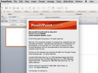 Microsoft Office for Mac 2011 Standard 14.4.2 SP4