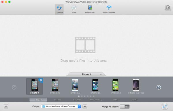 Wondershare Video Converter Ultimate for Mac 5.4.1