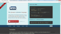 CSS with LESS and Sass (2012)