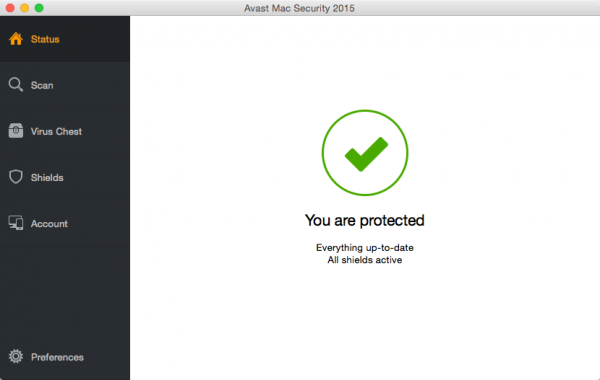 Avast Mac Security 2015