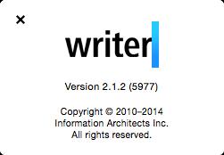 iA Writer 2.1.2