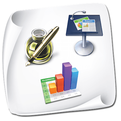Design Templates for iWork: Pages Keynote Numbers 4.0