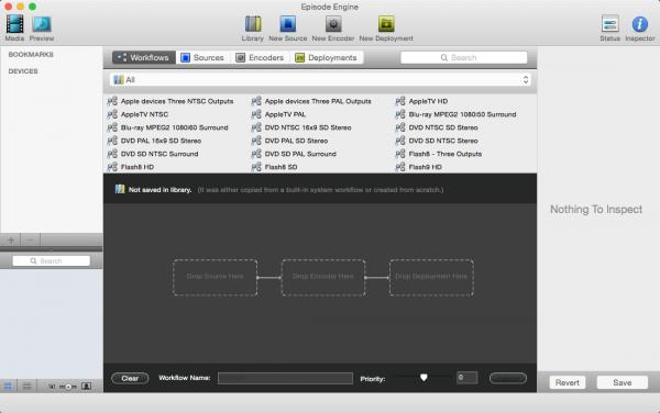 Episode Engine 7.1.0 - мощный видео-конвертер для Mac